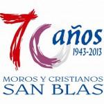 Logotipo 70 aniversario San Blas