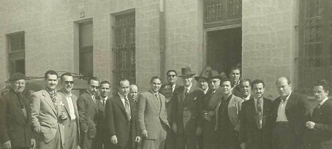 """Las """"Comparsas de Moros y Cristianos"""" de San Blas, primera sede festera de Alicante."""