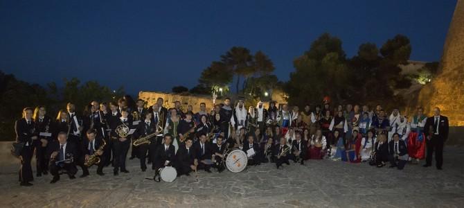 La Fiesta de San Blas junto a la banda L'Harmonia en el Castillo de Santa Bárbara