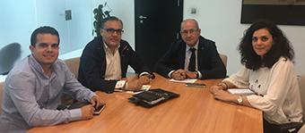 Reunión con el Concejal de Fiestas del Ayuntamiento de Alicante