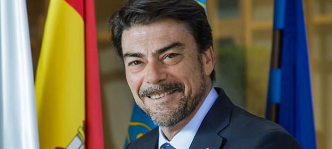 Saluda del Alcalde de Alicante