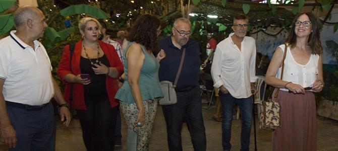 Primer acto oficial de Mar Marín como presidenta de las fiestas de San Blas