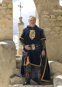 Capitán Cristiano: José Luis García Teruel.  Filà Aragoneses