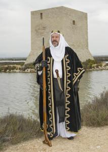 Capitán Moro: Francisco Javier Mojica Soler. Filà Nómadas.