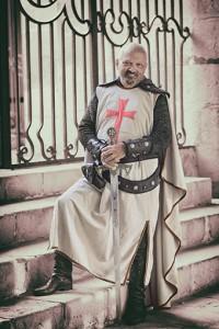 Joaquín Abegón Vellerino Capitán Cristiano - Filà Templarios