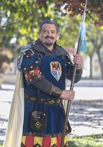 José Luis Giménez González. Alférez Crsitiano