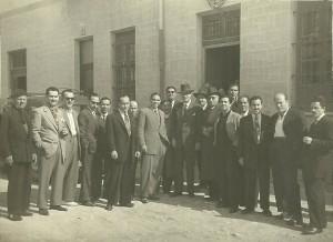 Inauguracion Comparsas 1946