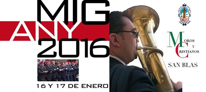 """Programa """"Mig Any Moros y Cristianos de San Blas 2016"""""""