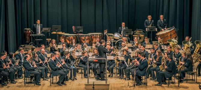L'Ateneu Musical de Cocentaina en el concierto de Mig Any 2017