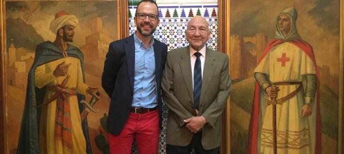 Acto institucional para dar comienzo a la restauración de los cuadros de Gastón Castelló